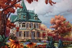 L'automne au château Richard   24x24 po