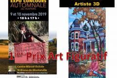2019 AAPARS 1er prix figuratif expo-concours