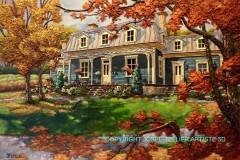 Aux couleurs du Québec 24x36 po